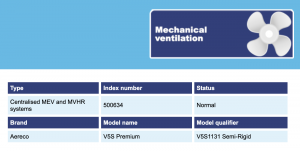 Aereco MEV on SAP database