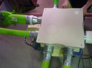 Aereco MEV semi rigid duct
